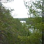 View from Etienne Trail at Samuel de Champlain Park.