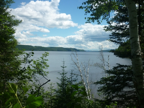 Gorgeous scenery on the Ottawa-Temiskaming Highland Trail...