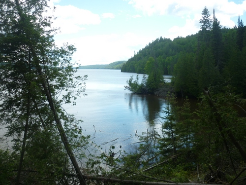 Lake Temiskaming seen while backpacking the OTHT.