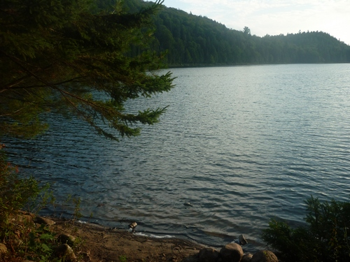 Scenery from the Western Uplands Trail at Algonquin Park.